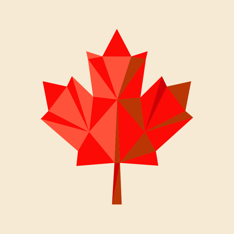 red maple-leaf